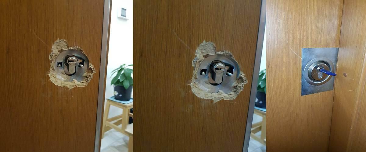 Küçükyalı Kapı Tamiri