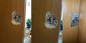 Esenkent kapı tamiri